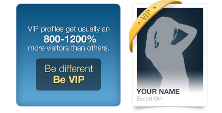 VIP Profiles get usually an 800-1200% more visitors than others.
